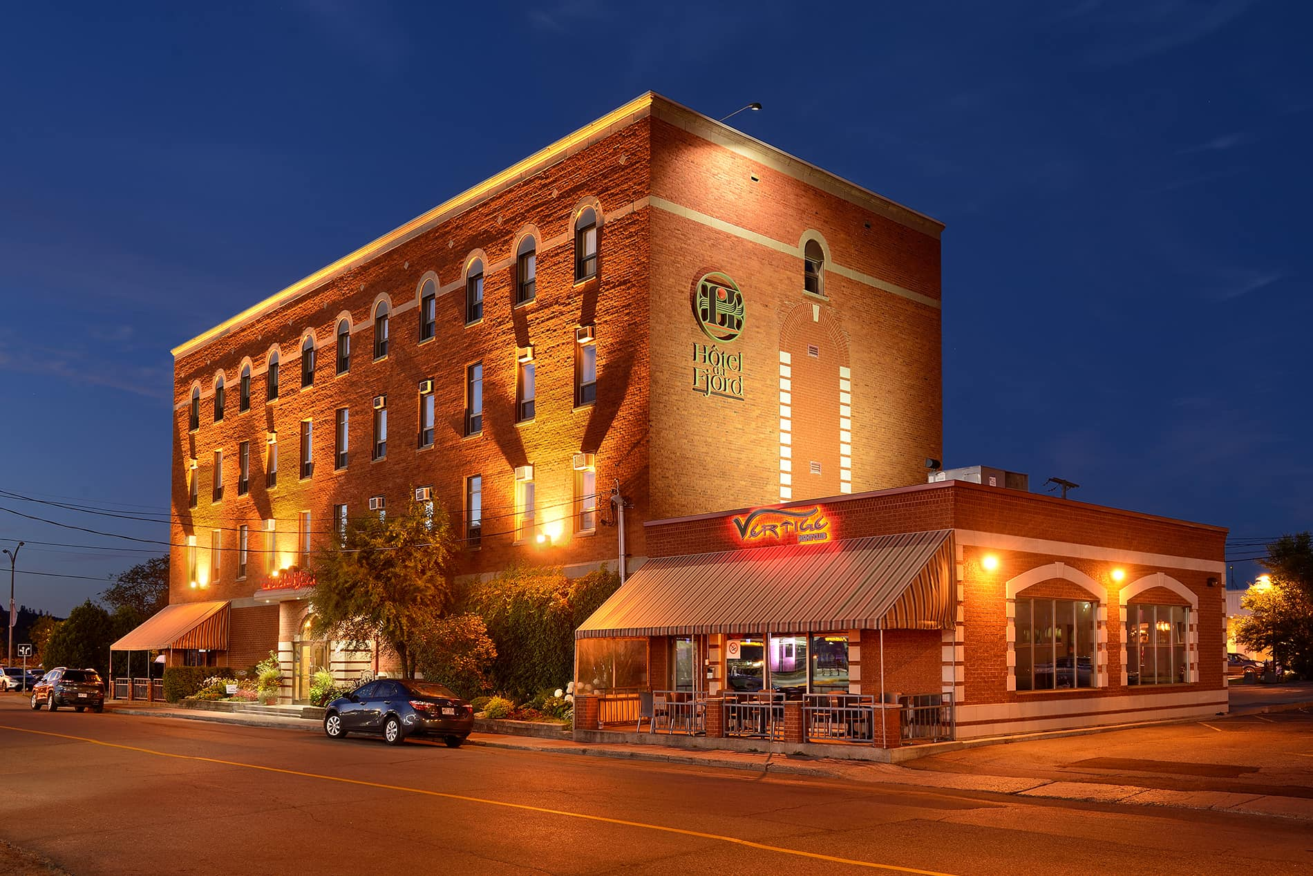 Hôtel Du Fjord Is Nestled In The Heart Of Downtown Chicoutimi And One Top Places To Stay Saguenay Due Its Convenient Location
